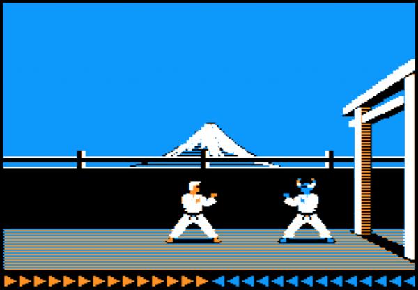 Karateka 2 jugadores